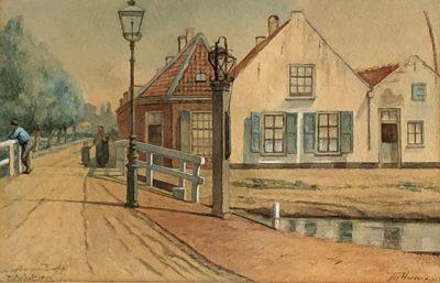 Jozef Hoevenaar Wz.Een verdwenen buurtje: Pietershofbrug te Utrecht