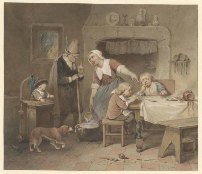 Willem Pieter HoevenaarBeter hard geblazen dan de mond verbrand
