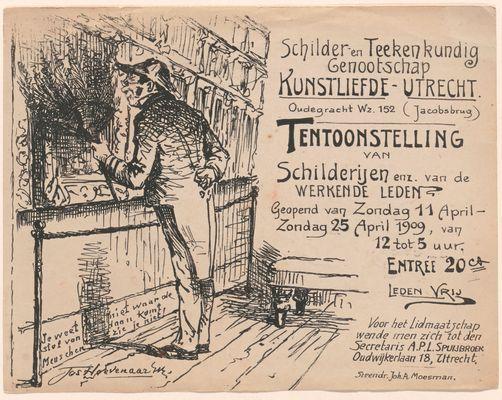 Tentoonstelling 11-25 april  1909