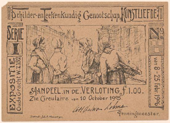 Aandeel verloting 1905