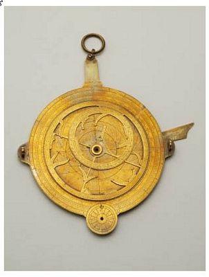 Nachtwijzer met astrolabium