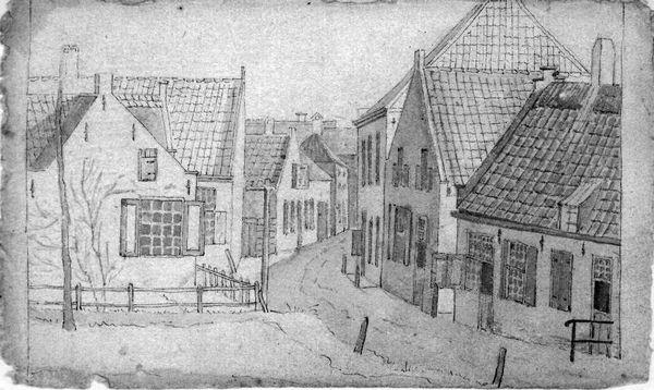 Een dorpsstraat