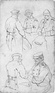 Pratende soldaten