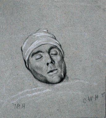 Sterfbed W.P. Hoevenaar