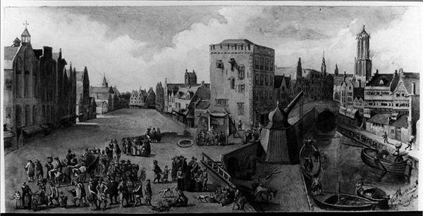 De Ganzenmarkt te Utrecht