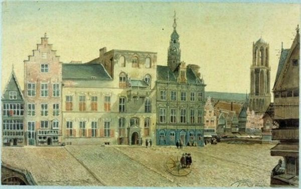 De Stadhuisbrug te Utrecht