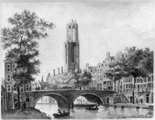 De Oudegracht te Utrecht