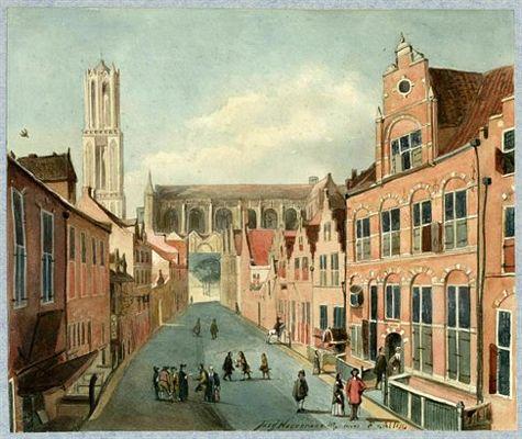 De Korte Nieuwstraat te Utrecht