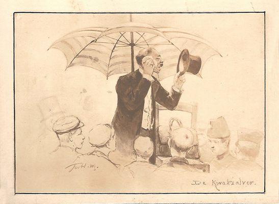 Parapluien: de kwakzalver