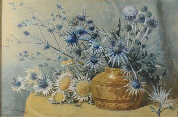 Fleurs dans une vase