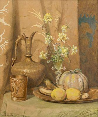 Studio in geel