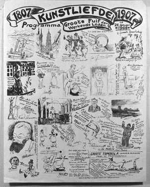 Affiche 100 jarig bestaan