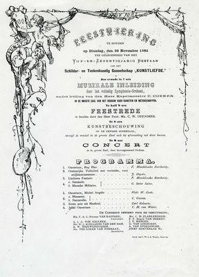 Programma feest 75 jaar