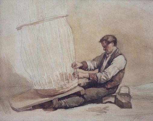 hoevenaar-art-museum-jos-hoevenaar-wz-aquarel