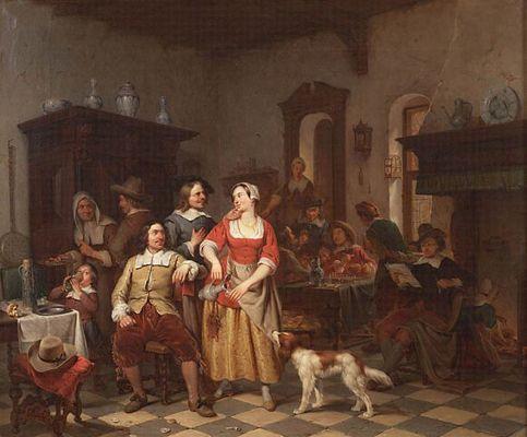 Jan Steen & Frans van Mieris