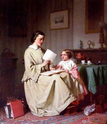 Moeder leest voor