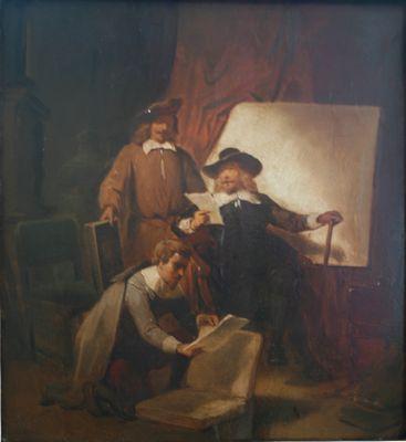 Opdracht voor de schilder