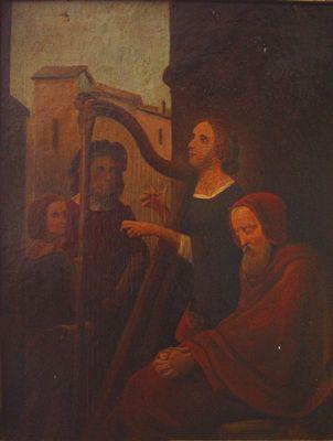 Harpspeelster
