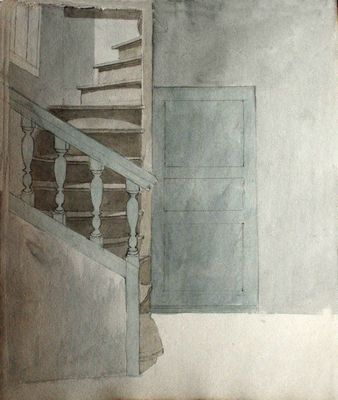 Studie van een interieur