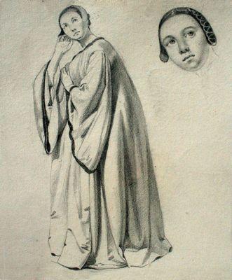 Vrouw en detail