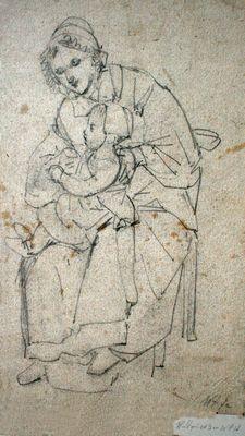 Wendelina met dochter