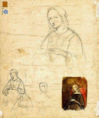 Vrouw met brief