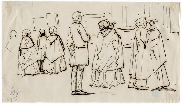 Bezoekers tentoonstelling