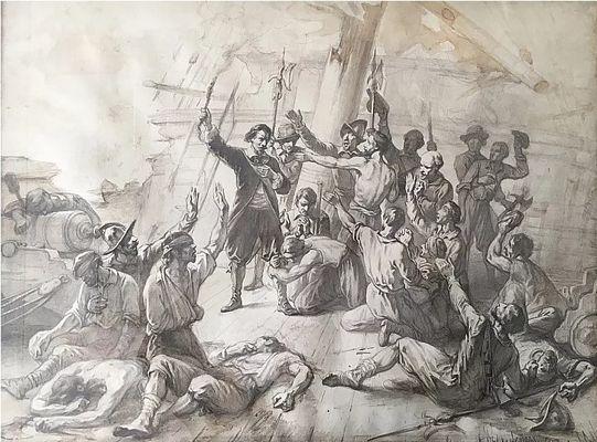 Historische zeeslag